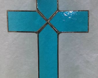 Cross in Turquoise