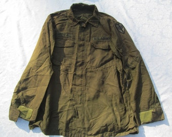 Vintage Military Man's  Flying Shirt - High Temperature Resistant  OG - 106