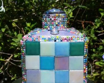 Small Mosaic Bottle