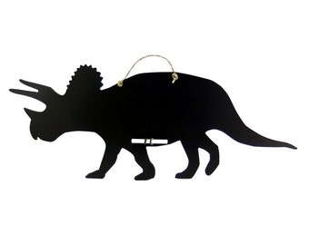 Triceratops Dinosaur Chalkboard