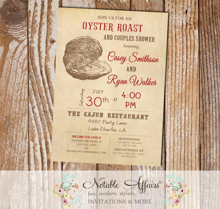 Oyster roast low country boil seafood couples shower zoom stopboris Images