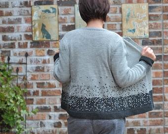 "Knitting pattern for cardigan ""Charlotte"""