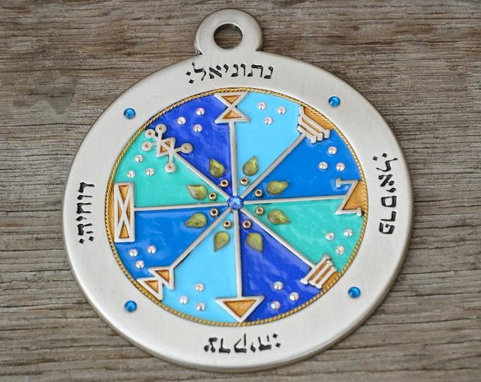 Pentacle of Jupiter Talisman for Business Success & Abundance - Key of Solomon Inspirational Decor