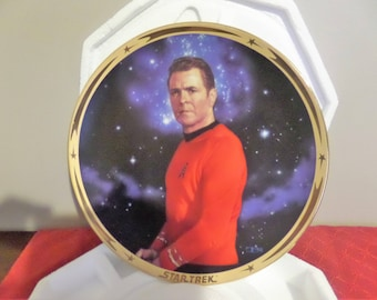 "Star Trek ""Scotty"" Collector's Plate.   25th Anniversary Series.  Retired 1998"