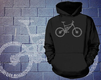 Bicycle Parts Hoodie Sweatshirt Bicycle Tee Shirt Bike Structure bicycle parts name sweater