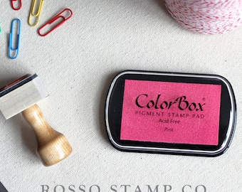 Pink Pigment Ink Pad - ColorBox Pigment Ink Pad - Pink Ink Pad