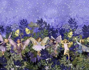 Michael Miller - cotton - NIGHT FAIRIES BORDER - 50cm