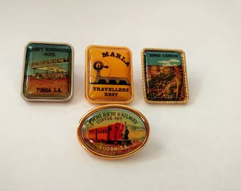 Vintage lot Australian souvenir pins