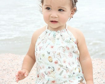 Grace// Sunsuit // Playsuit