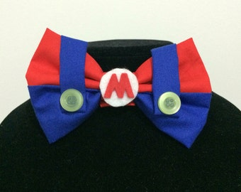 Mario Inspired Bow Tie