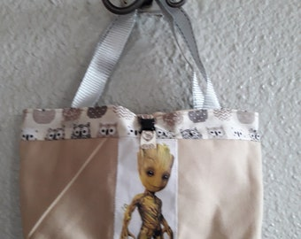 """Groot"" beige girl and OWL bag"