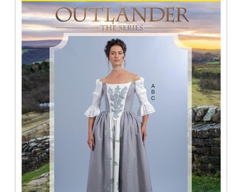 McCall's M7764 Misses' Outlander The Series Top and Skirts