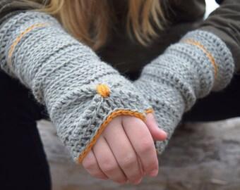 Sōlstice | Fingerless crochet gloves | PATTERN # 53
