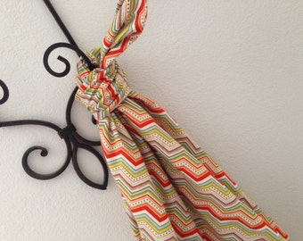 Baby Swaddle Blanket Riley Blake This Ones for the Boys Chevron Cream Flannel
