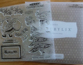 Close to My Heart Stamp Set - Christmas Cheer D1494