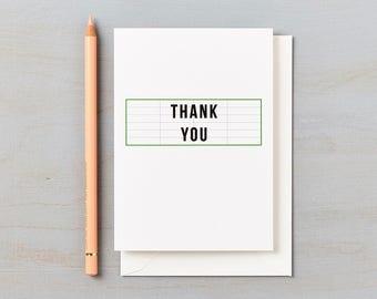 Cinema Design Thank You cards