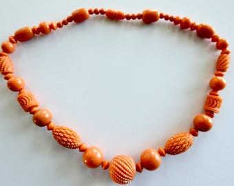 1930's Deco Celluloid Necklace