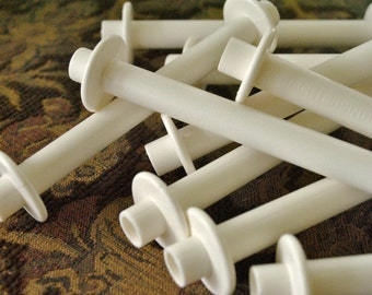 Schacht Plastic Weaving Bobbins Great for Using as Second Spool for Art Yarns Lace Yarns Plying