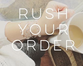 RUSH YOUR ORDER • last minute gifts • Priority Mail • Express Mail