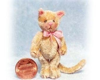 Basteln Sie Kitty - Miniatur Katze Kit - Muster - von Emily Landwirt