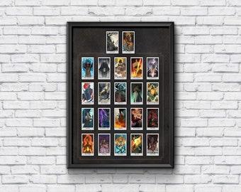 "PRE-ORDER 18x24"" Poster - Undead Journey Major Arcana Deck"