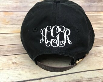 ADD Back of hat embroidery