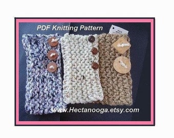 292, KNITTING or CROCHET Pattern.... Easiest  Knitted   Fingerless Gloves , Armwarmers in the World..... Make them any size,