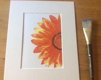 Bold flower giclee print 5 x 7