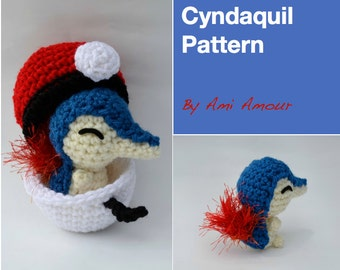 Cyndaquil Pattern Amigurumi Pokemon crochet
