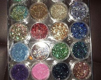 5 individual glitters for 30
