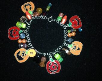 Bracelet - Jack o' Lantern Bangle