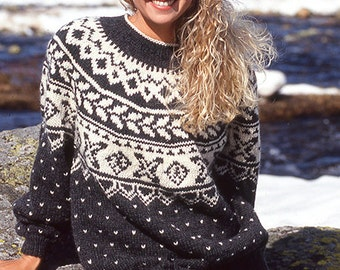 Cowichan sweater, Icelandic Sweater, Ugly sweater, Fair isle, custom made christmas sweater, knit jumper, made to order, Xmas gift for her