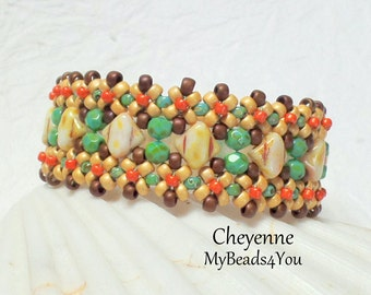 Beaded Bracelet - Beadwork Bracelet - Seed Bead Jewelry - Silky Beads - Beadwoven Jewelry - Beaded Bracelet - Mothers Day Gift, MyBeads4You