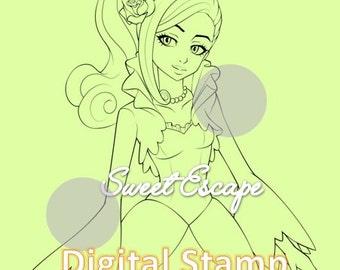 Ella Digital Stamp