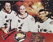 Vintage Apollo XIII Crew ...