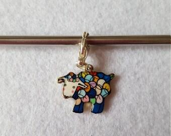 Enamel Colourful Sheep Stitch Marker / Progress Keeper for Knitting or Crochet