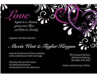 Printable Invitation Design