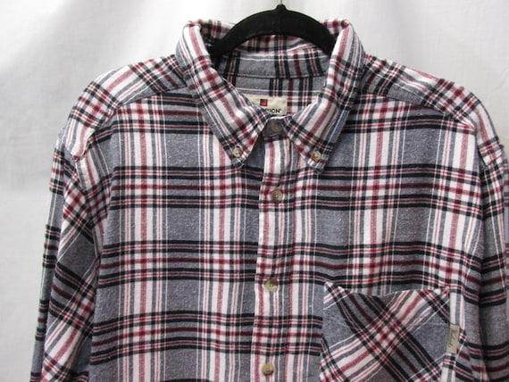 vintage Towncraft shirt , mens size large , button up shirt ,perfect condition ,long sleeve ,boyfriend shirt , 100 % cotton , blue , quality