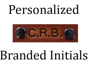 Personalized Branded Initials - 3 Initials - Customized Initials to personalize your Copper River Bag