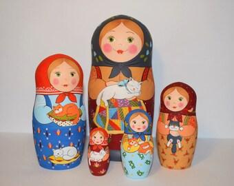 Matryoshka Babushka Nesting Doll