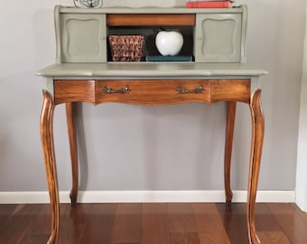 SOLD Queen Anne Desk