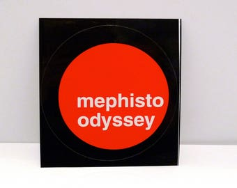 Mephisto Odyssey Sticker - The Lift 1990s Electronic Drum n Bass Breaks Funk EDM Tribal House Trip Hop Future Jazz Mohawk Music Record Store