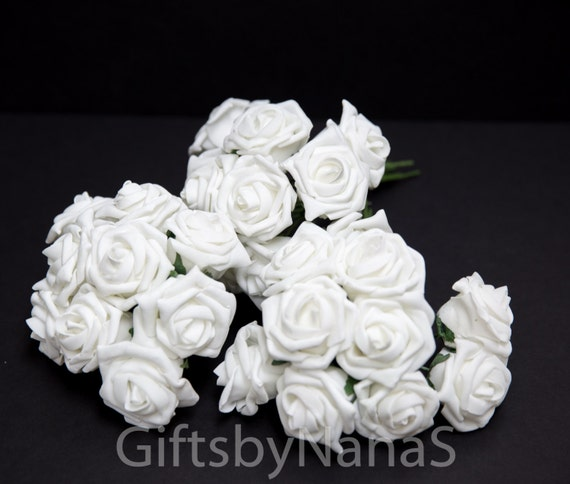 White foam roses large white roses bulk silk flowers cheap silk white foam roses large white roses bulk silk flowers cheap silk flowers white wedding roses cheap real touch flowers white foam roses from mightylinksfo