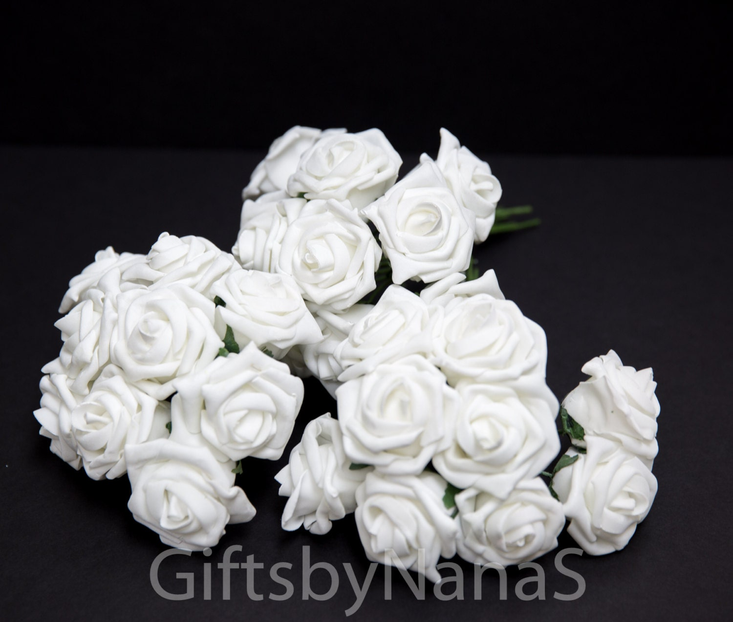 White foam roses large white roses bulk silk flowers cheap silk 2999 izmirmasajfo