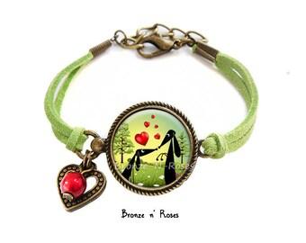 "Bracelet ""Puppy Love"" dog girl costume jewelry"