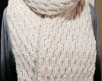 chuncky alpaca scarf