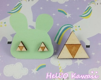 TRIFORCE brooches, pins and earrings