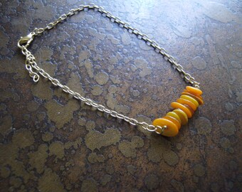 Citrus Glass Serenity Chain bracelet