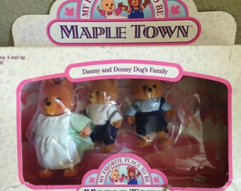 Maple Town Dog Family Set of 3