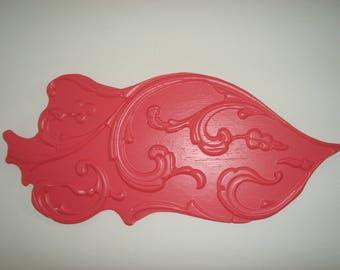 decorative wall carp exotic pink